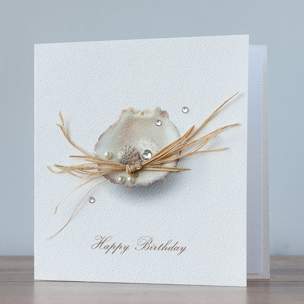 Handmade Birthday Card 'Seashell'