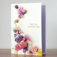 Luxury Boxed Mother's Day Card 'Blooming Garden'