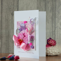 Luxury Boxed Mother's Day Card 'Pretty Pastels'