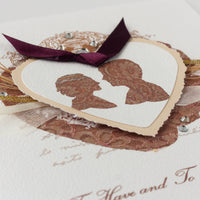 Handmade Wedding Card 'To Have and To Hold Forever'