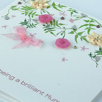 Handmade Mother's Day Card 'Jasmine'