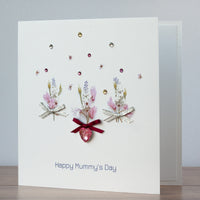 Handmade Mother's Day Card 'Spring Flowers'