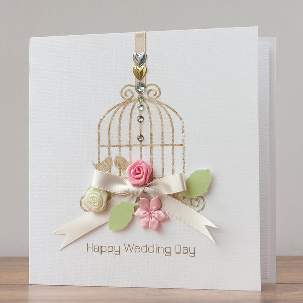 Handmade Wedding Card 'Fairytale'