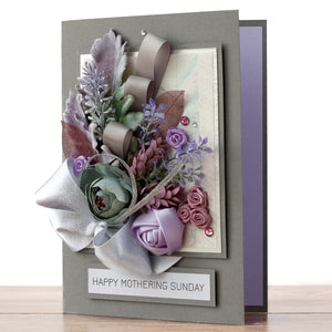 Luxury Handmade Mother's Day Card 'Camellia'