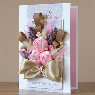 Luxury Boxed Mother's Day Card 'Bella'