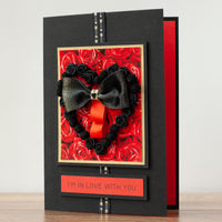 Luxury Boxed Valentines Card 'Valentino'