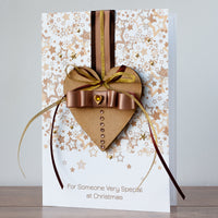 Luxury Boxed Christmas Card 'Christmas With You'