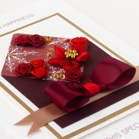 Luxury Boxed Christmas Card 'Christmas Mail'