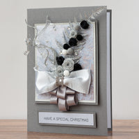 Luxury Boxed Christmas Card 'Nordic Christmas Bouquet'