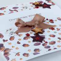 Handmade Christmas Card 'Christmas Wishes'