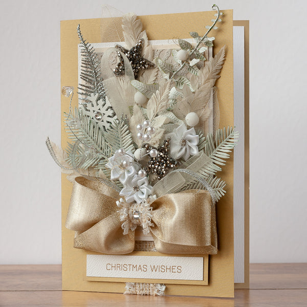 Luxury Boxed Christmas Card 'Christmas Surprise'