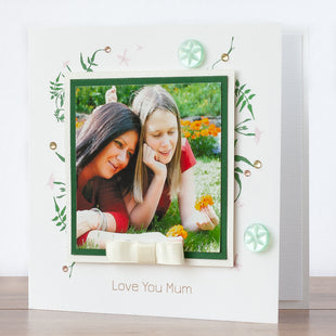 Photo Mother's Day Card 'Love You Mum'