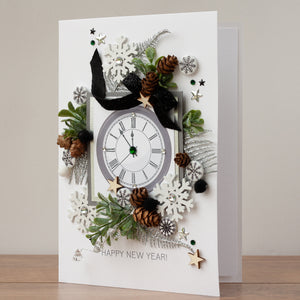 Luxury Boxed New Year Card 'Happy New Year'