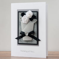 Luxury Boxed Sympathy Card 'Thinking of You'