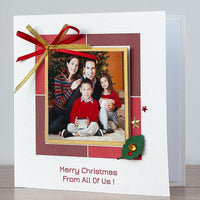 Handmade Christmas Photo Card 'Magic Times'
