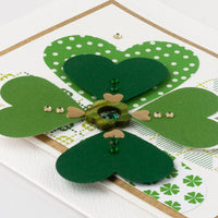 Luxury St. Patrick's Day Card 'Stay Lucky'