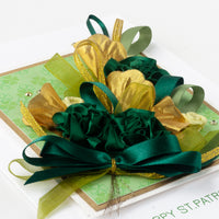 Luxury St. Patrick's Day Card 'St. Patrick's Bouquet'