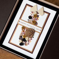 Luxury Boxed Father's Day Card'Tie'