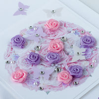 Luxury Boxed Wedding Card 'Bridal Bouquet'