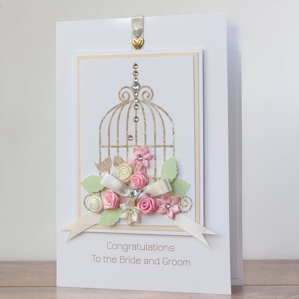 Luxury Boxed Wedding Card 'Fairytale Wedding'