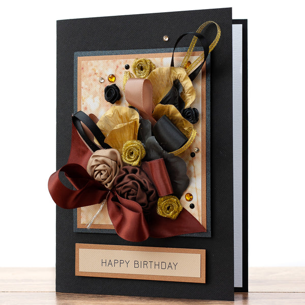 Luxury Boxed Birthday Card 'Celebrations'