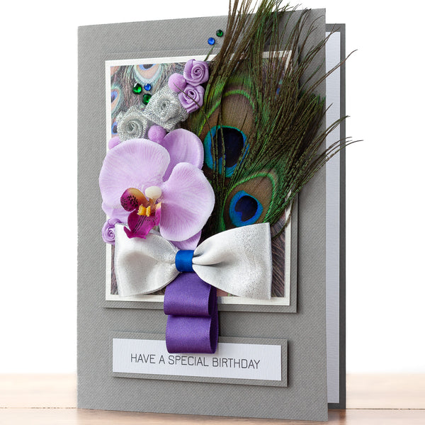 Luxury Boxed Birthday Card 'Just Because'