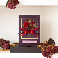 Luxury Boxed Birthday Card 'Birthday Bouquet'