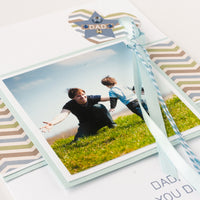 Photo Father's Day Card  'Star Dad'