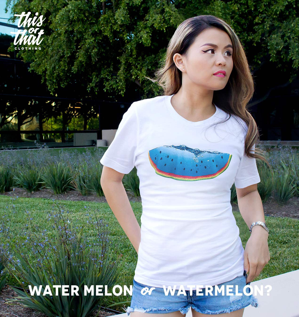 Water Melon or Watermelon? unisex t-shirt