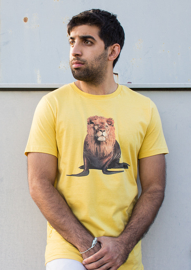 Lion or Sea Lion? unisex t-shirt