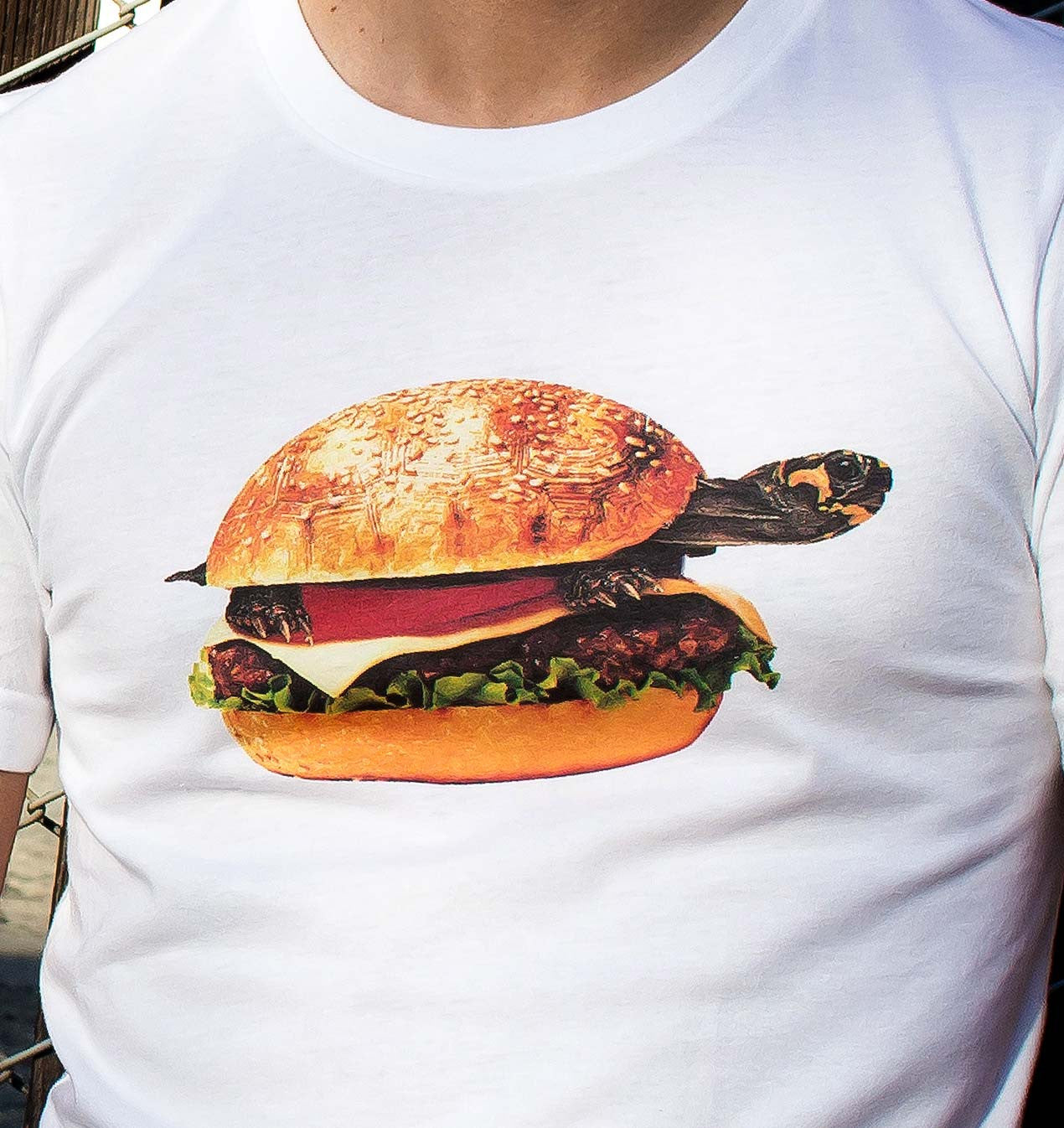 Turtle Burger or Burger? unisex t-shirt