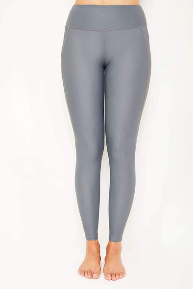 Leggings de natation - Gris pastel