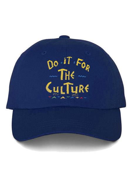 'Do it for the Culture' Dad Hat (Blue)