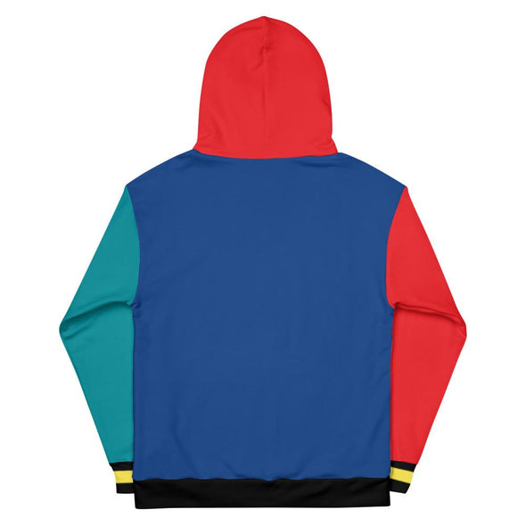 90s All-Black Colorblock Unisex Hoodie (Yellow) - Royal Blakk