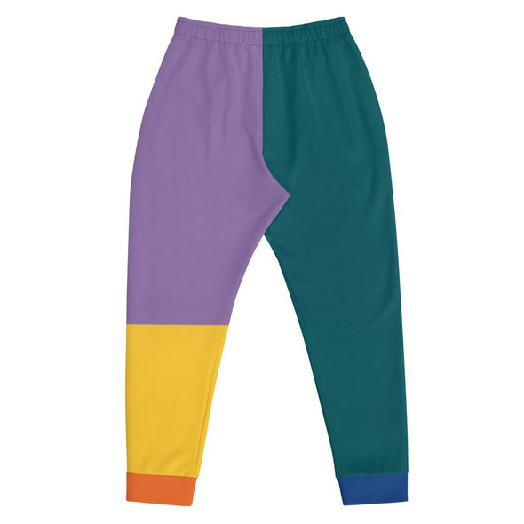 Colorblock Joggers - Colorblock Sweatpants | Royal Blakk