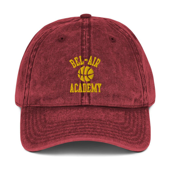 'Bel Air Academy' Vintage Cotton Twill Cap - Royal Blakk