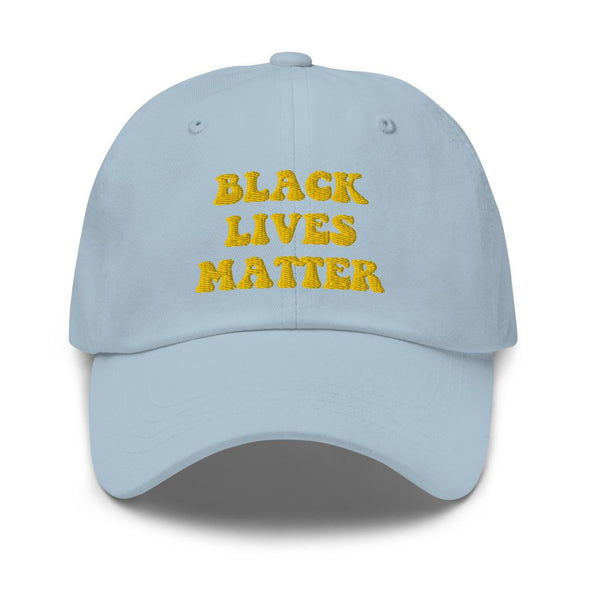 'Black Lives Matter' Dad hat - Royal Blakk
