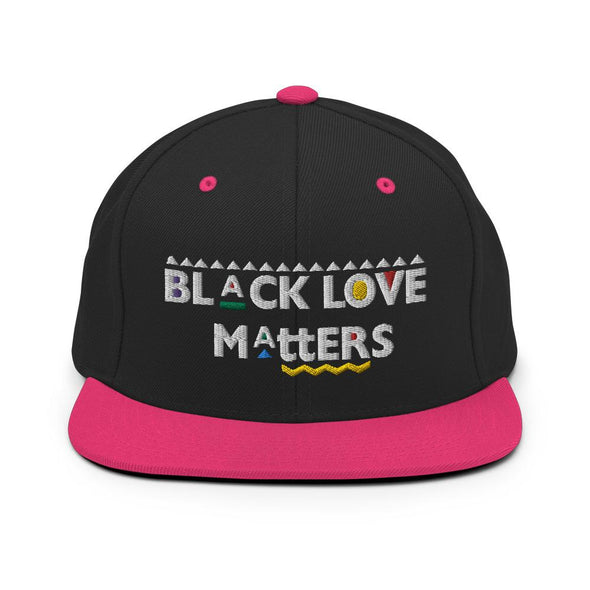 'Black Love Matters' Snapback Hat - Royal Blakk