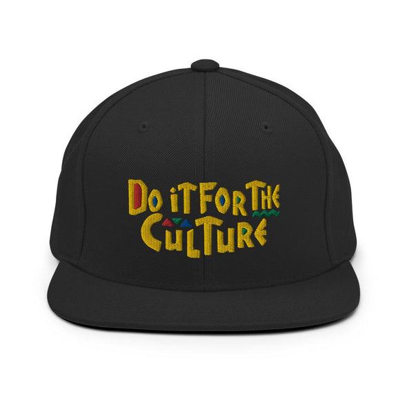 'Do it For The Culture' Snapback Hat - Royal Blakk
