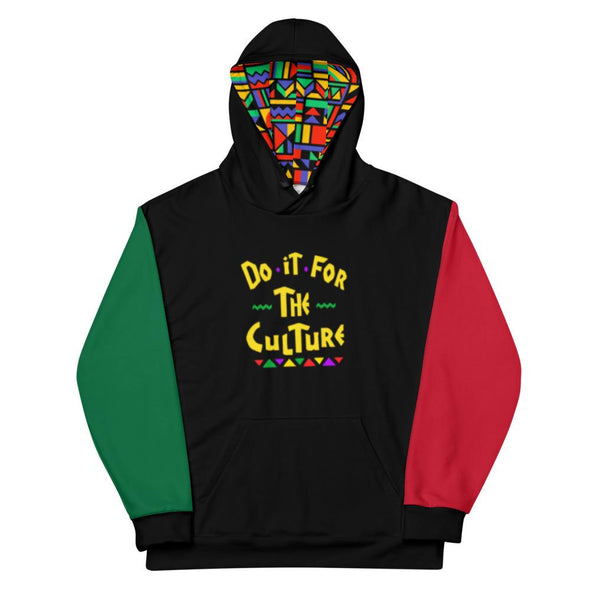 Do it for the Culture Unisex Hoodie - Royal Blakk