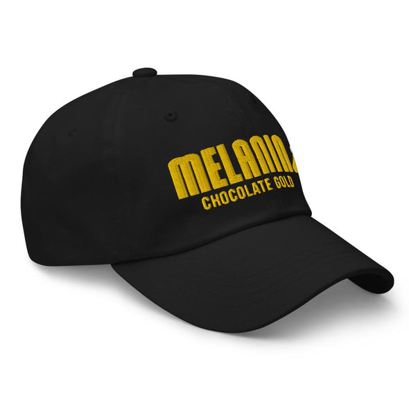Melanin Chocolate Gold Dad hat - Royal Blakk