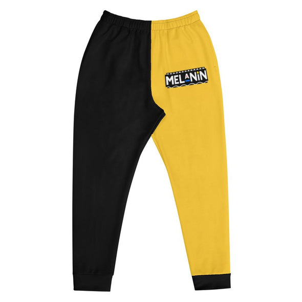 Melanin Colorblock Joggers - Royal Blakk
