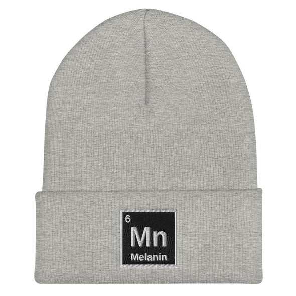 Melanin Element Cuffed Beanie - Royal Blakk