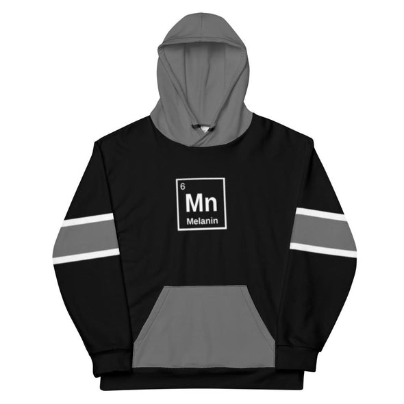 Melanin Element Unisex Hoodie - Royal Blakk