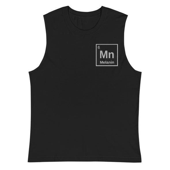 Melanin Muscle Shirt - Royal Blakk