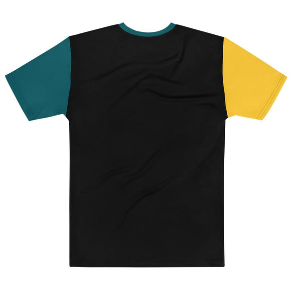 No Justice Colorblock T-shirt - Royal Blakk