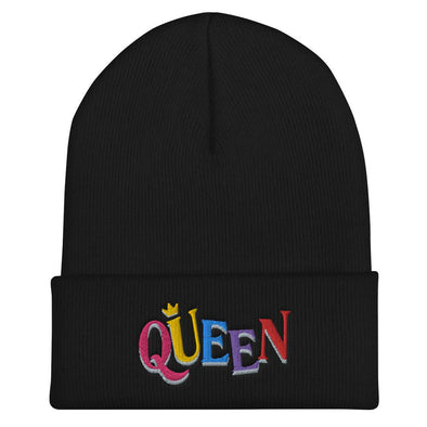 'Queen' Beanie - Royal Blakk