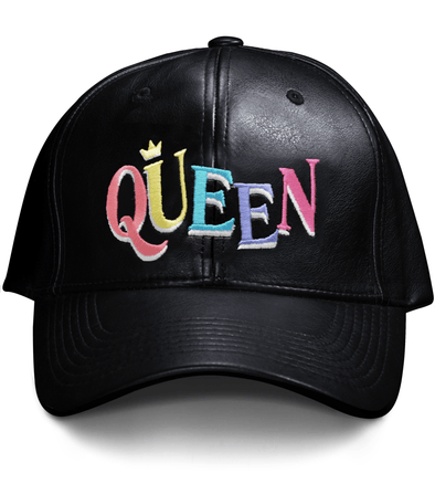 'Queen' Dad Hat - Royal Blakk
