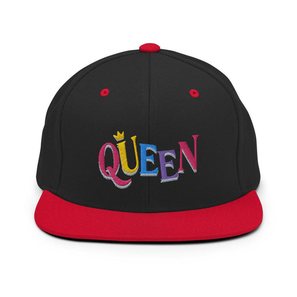 'Queen' Snapback Hat - Royal Blakk