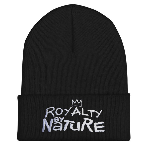 'Royalty by Nature' Beanie - Royal Blakk